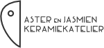 Keramiekatelier Aster en Jasmien Logo
